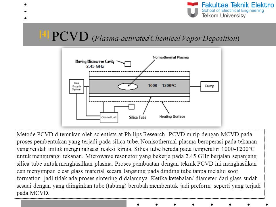 [4] PCVD (Plasma-activated Chemical Vapor Deposition)